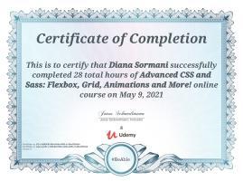 Advanced CSS / SASS / Flexbox / Grid
